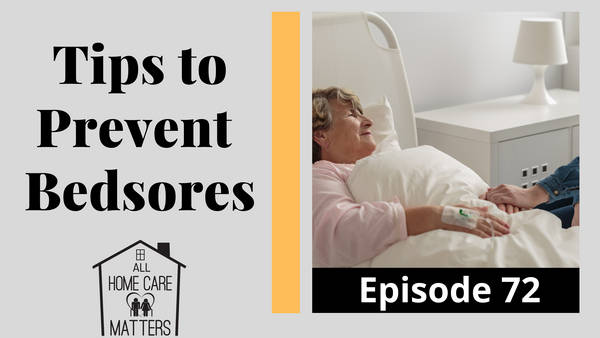 Tips to Prevent Bedsores